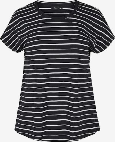Zizzi Tričko 'Vdorit' - čierna / biela, Produkt