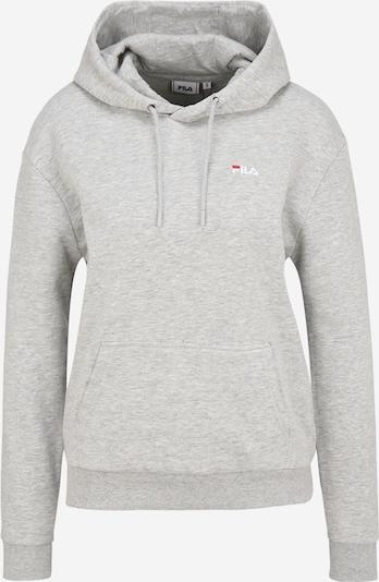 FILA Sweatshirt in mottled grey / Red / White, Item view