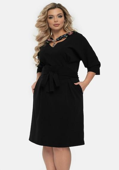 Wisell Kleid in schwarz, Modelansicht