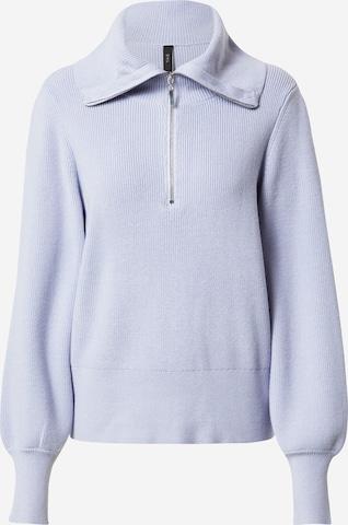 Y.A.S Sweater 'Dalma' in Purple