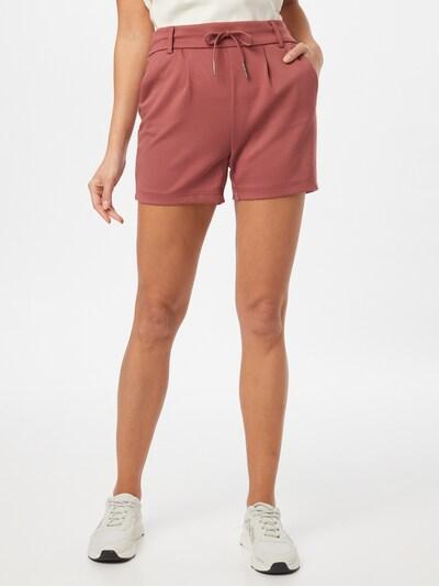 ONLY Spodnie 'Poptrash' w kolorze pastelowa czerwieńm, Podgląd na modelu(-ce)