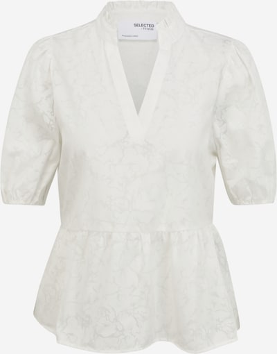 Selected Femme (Petite) Bluse 'Pernilla' in creme / naturweiß, Produktansicht