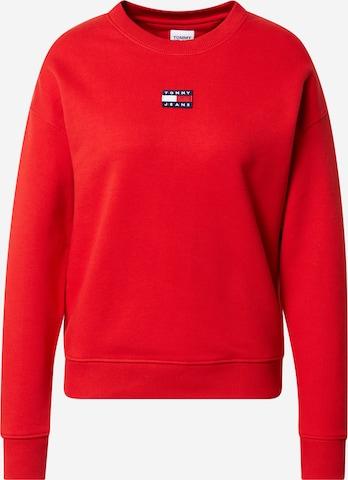 Tommy Jeans Sweatshirt in Red