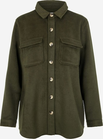 OBJECT Between-season jacket in olive, Item view