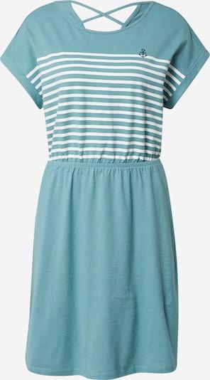 TOM TAILOR DENIM Dress in Pastel blue / White, Item view