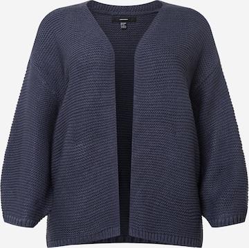 Vero Moda Curve Knit cardigan 'NO NAME' in Blue