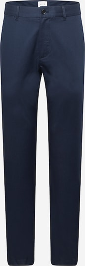 WOOD WOOD Chino trousers 'Marcus' in dark blue: Frontal view