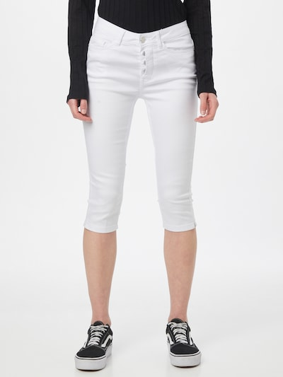 VERO MODA Pantalon 'SEVEN' en blanc, Vue avec modèle