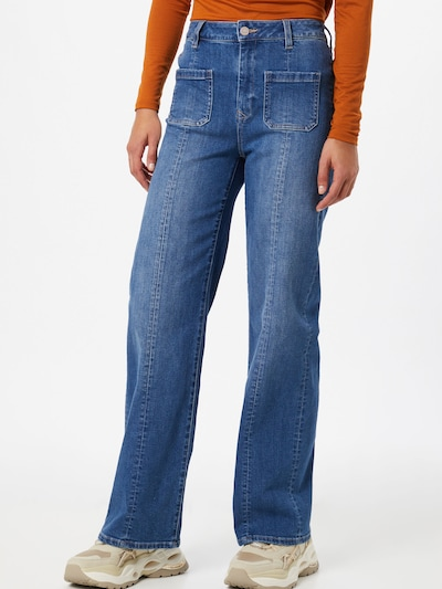 Dawn Jeans 'Sailor' in blue denim, Modelansicht