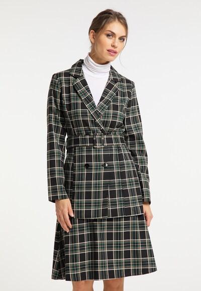 usha BLACK LABEL Blazer en beige / vert / noir / blanc, Vue avec modèle