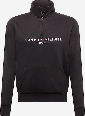 TOMMY HILFIGER Sweatshirt i svart