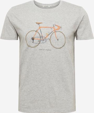 GREENBOMB Shirt  'Bike 51' in Grau