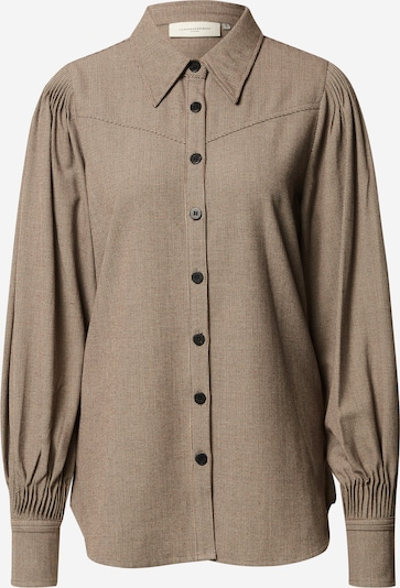 Copenhagen Muse Blouse 'Zalin-SH' in Brown / Mixed colours, Item view