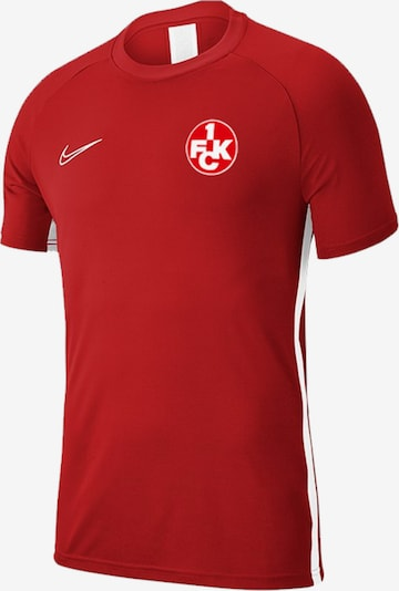 1. FC Kaiserslautern T-Shirt in rot, Produktansicht