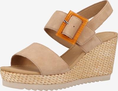GABOR Sandale in beige / braun, Produktansicht