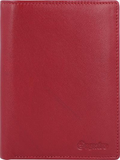 Esquire Porte-monnaies 'New Line' en rouge, Vue avec produit