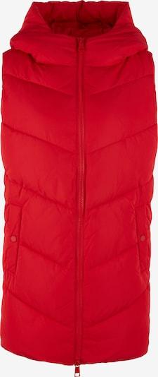 s.Oliver Oversized Steppweste mit Kapuze in rot, Produktansicht