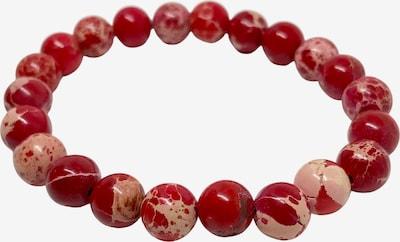 GOOD.designs Jaspisarmband in rot, Produktansicht
