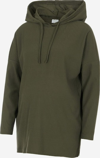 MAMALICIOUS Sweatshirt in khaki, Produktansicht