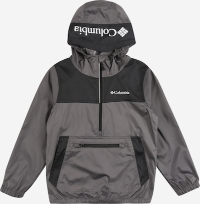 COLUMBIA Jacke 'Bloomingport' in grau / dunkelgrau / weiß, Produktansicht