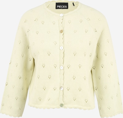 Pieces Petite Knit Cardigan 'TRULY' in Pastel yellow, Item view