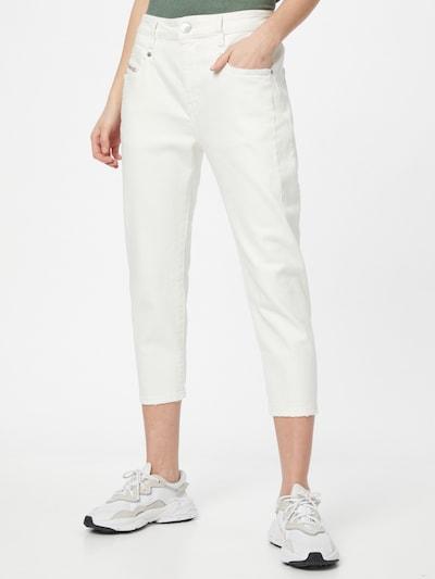 DIESEL Jeans 'FAYZA' in de kleur Wit, Modelweergave