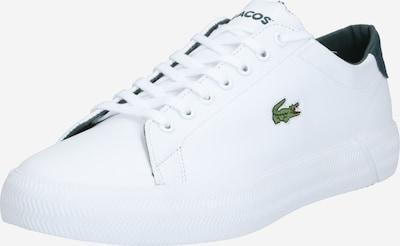 sötétzöld / fehér LACOSTE Rövid szárú edzőcipők 'Gripshot 0120 3 CMA', Termék nézet