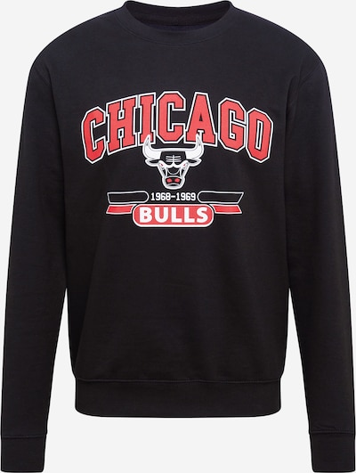 Felpa 'CHICAGO BULLS' Mitchell & Ness di colore melone / nero / bianco, Visualizzazione prodotti