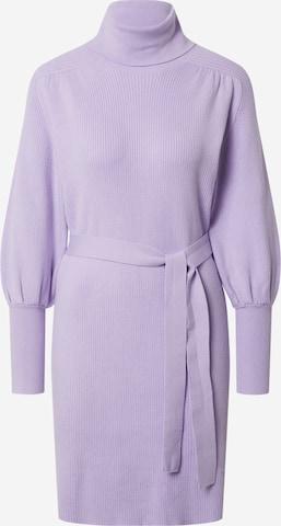 EDITED Knit dress 'Malene' in Purple