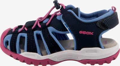 GEOX Sandale in blau, Produktansicht