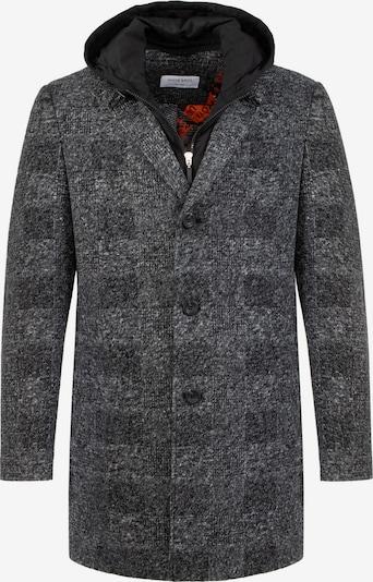 White Bros Mantel 'Liverpool' in grau / schwarz, Produktansicht