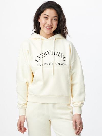 ABOUT YOU Limited Sweat-shirt 'Alia' en beige: Vue de face