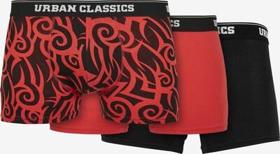 Urban Classics Boxershorts in de kleur Rood / Zwart / Wit, Productweergave