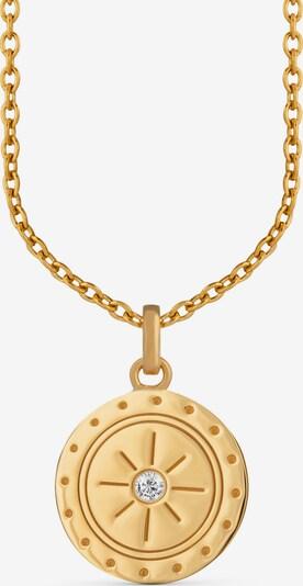 caï Kette in gold / transparent: Frontalansicht