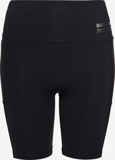 Superdry Pantalon de sport en noir, Vue avec produit