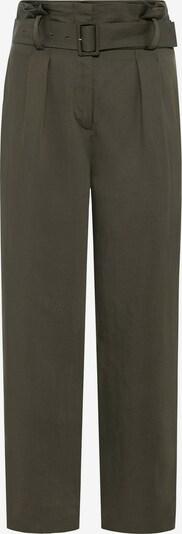HALLHUBER Bundfaltenhose in dunkelgrün, Produktansicht