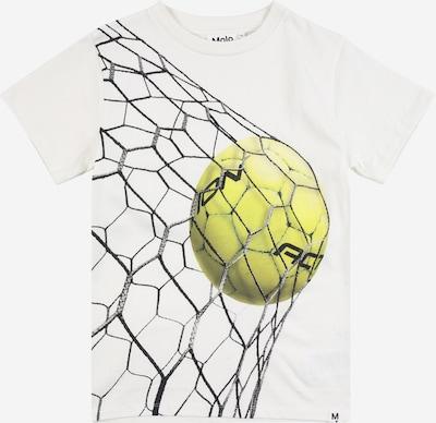 Molo T-Shirt 'Road' en moutarde / graphite / blanc, Vue avec produit