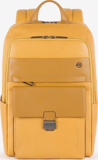 Piquadro Sac à dos en jaune, Vue avec produit