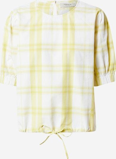 Thinking MU Pusero 'IRIS' värissä sinappi / valkoinen: Näkymä edestä