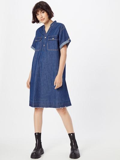 s.Oliver Shirt Dress in Blue denim, View model