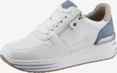 ARA Sneaker in beige / blau / grau / weiß, Produktansicht