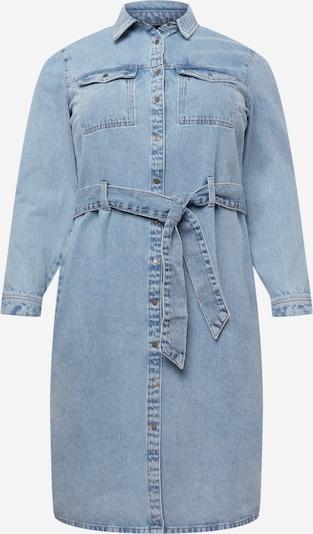 PIECES Curve Blūžkleita 'NAMIR', krāsa - zils džinss, Preces skats