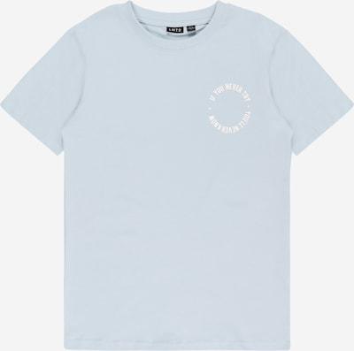 LMTD T-Shirt 'Victor Flor' en opal / blanc, Vue avec produit