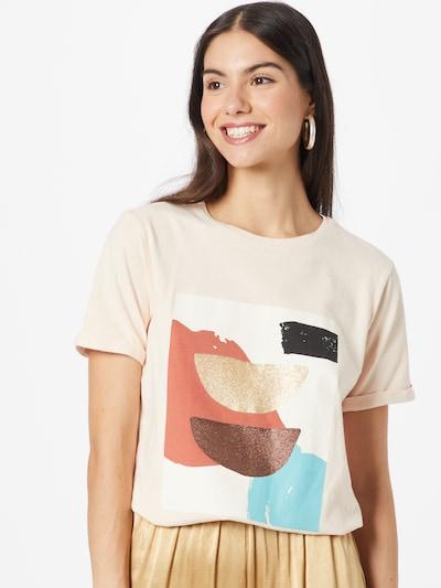 Marškinėliai 'IDREAM' iš Maison 123, spalva – mišrios spalvos / persikų spalva: Vaizdas iš priekio