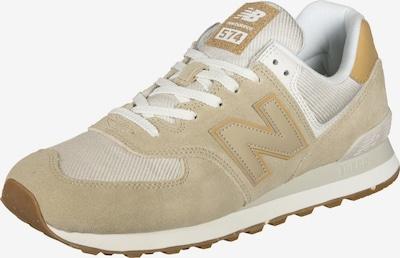 new balance Baskets basses en beige / blanc, Vue avec produit