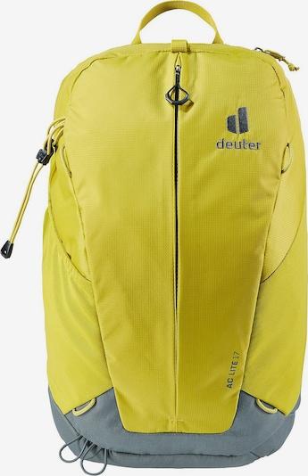 DEUTER Rucksack in gelb, Produktansicht