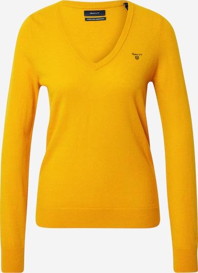 GANT Pullover in goldgelb, Produktansicht