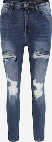 Missguided Petite Jeans 'SINNER' in Blue