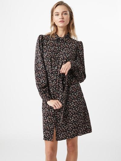ONLY Kleid 'LUNA' in rot / schwarz / weiß, Modelansicht