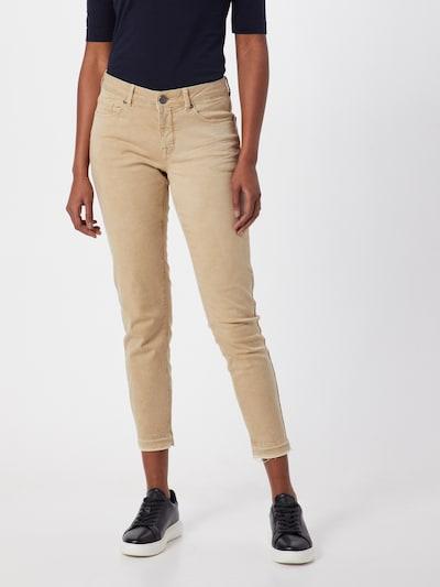 OPUS Jeans 'Elma' in de kleur Taupe, Modelweergave
